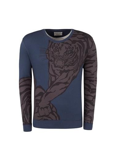 Valentino Sweatshirt Lacivert